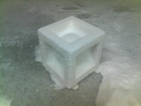 3dchef 3dprinted sugar ball cube