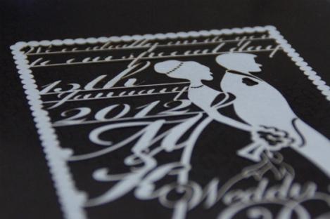 muzoo design wedding invite