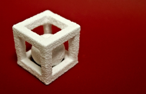 3dchef 3dprinted sugar cube with ball